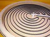 Тэн для стеклокерамических электро плит 2300 Вт./230В./Ø-230 мм.на 4 вывода HEATWELL Kawai, фото 5