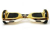 Гироборд 6,5 гироскутер сигвей с Bluetooth и колонками Chrome Gold с пультом, фото 1