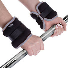 Обважнювачі для рук і ніг 0,5 кг манжети для рук і ніг по 0,5 кг вантажі на ноги і руки (підійдуть для бігу), фото 2