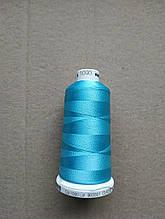 Нитки для машинной вышивки   Madeira Classic №40.  цвет 1093 ( ГОЛУБОЙ ).  1000 м
