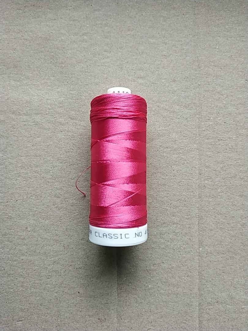 Нитки для машинной вышивки   Madeira Classic №40.  цвет 1110 (  ).  по 1000 м
