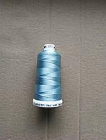 Нитки для машинной вышивки   Madeira Classic №40.  цвет 1092 ( СВЕТЛО - ГОЛУБОЙ  ).  1000 м