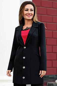 Элегантный черный пиджак Адриана