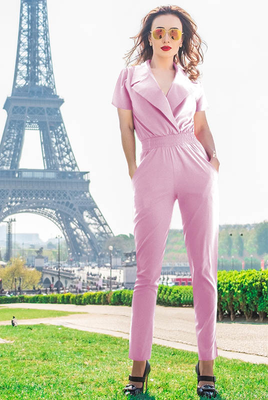 Комбінезон ніжно рожевого кольору Катрін