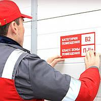 Розрахунок категорій і класів зон за вибухопожежною та пожежною небезпекою.