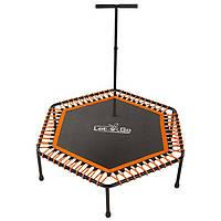 """Батут для фитнеса с ручкой 50""""(127 см) Let'sGo оранжево-черный, фото 1"""