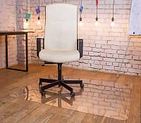 Защитный коврик под кресло 2050х1250мм толщина 0.6 мм кристально прозрачный.