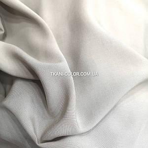 Тканина штапель сірий