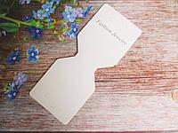 Планшетка для изделий ручной работы, 120х50 мм, цвет белый, 10 шт