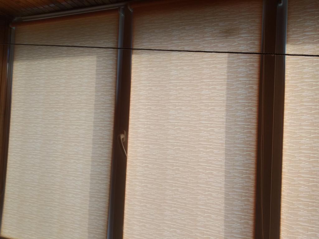 Рулонные шторы Lazur Киев. Тканевые ролеты Лазурь (Ван Гог) Киев