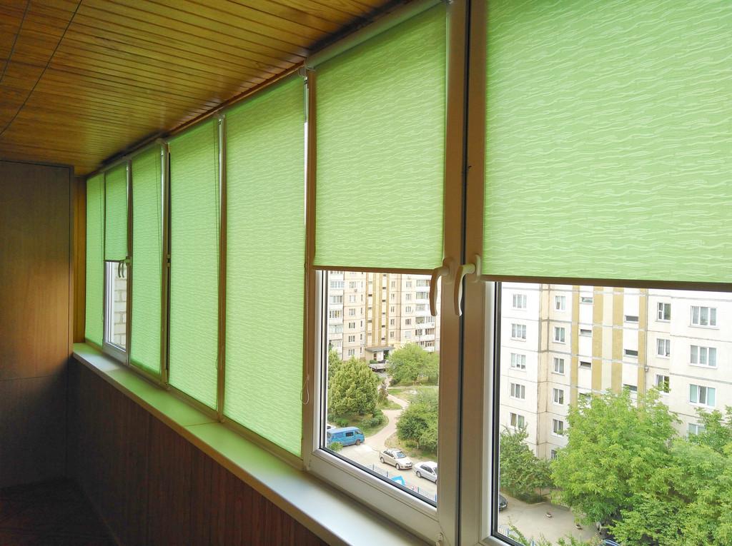 Рулонные шторы Lazur Вишневое. Тканевые ролеты Лазурь (Ван Гог) Вишневое