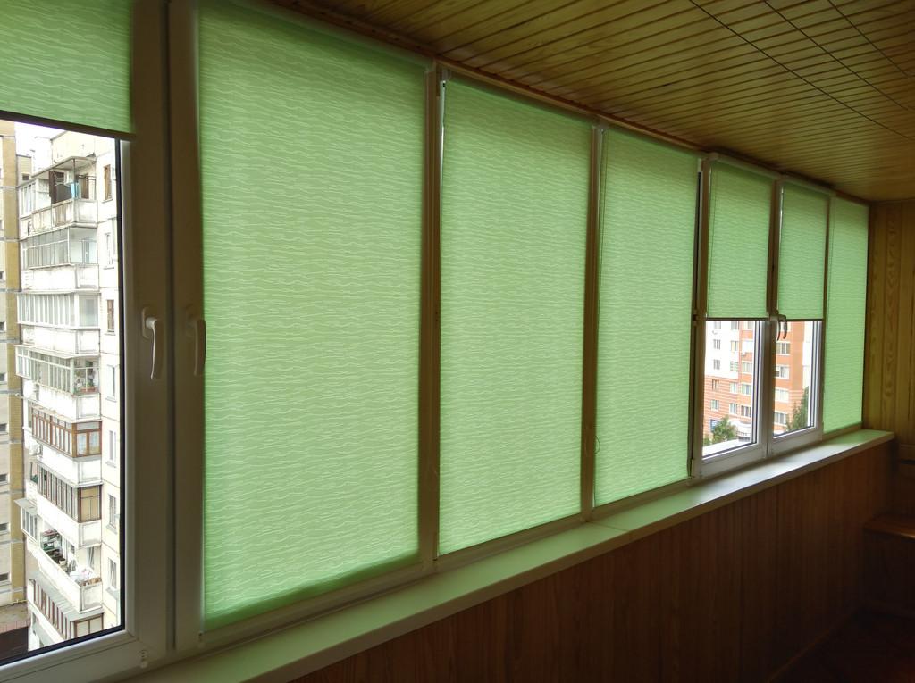 Рулонные шторы Lazur Одесса. Тканевые ролеты Лазурь (Ван Гог) Одесса