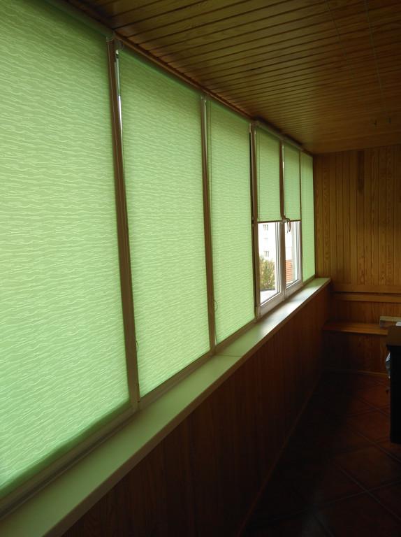 Рулонные шторы Lazur Львов. Тканевые ролеты Лазурь (Ван Гог) Львов