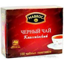 Чай Маброк Orange Pekoe (100 пакетів)