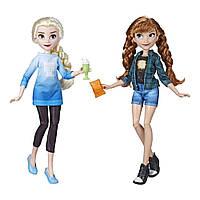 Принцессы Диснея Куклы Эльза и Анна Disney Princess Elsa and Anna Hasbro E7417