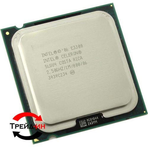 Intel Celeron E3300, б/у