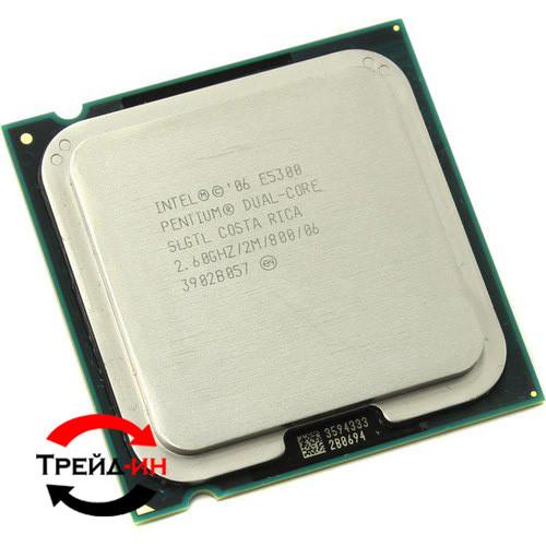 Процессор Intel Pentium E5300, б/у