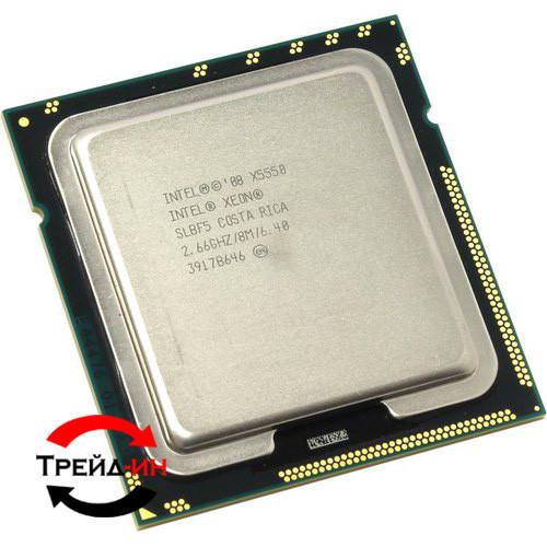 Intel Xeon X5550, б/у