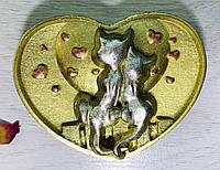Шоколадное сердечко на День Матери. Красивый шоколадный подарок сердце маме