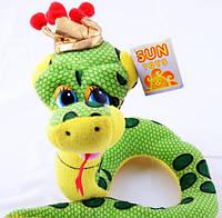 Мягкая игрушка Змея 24см