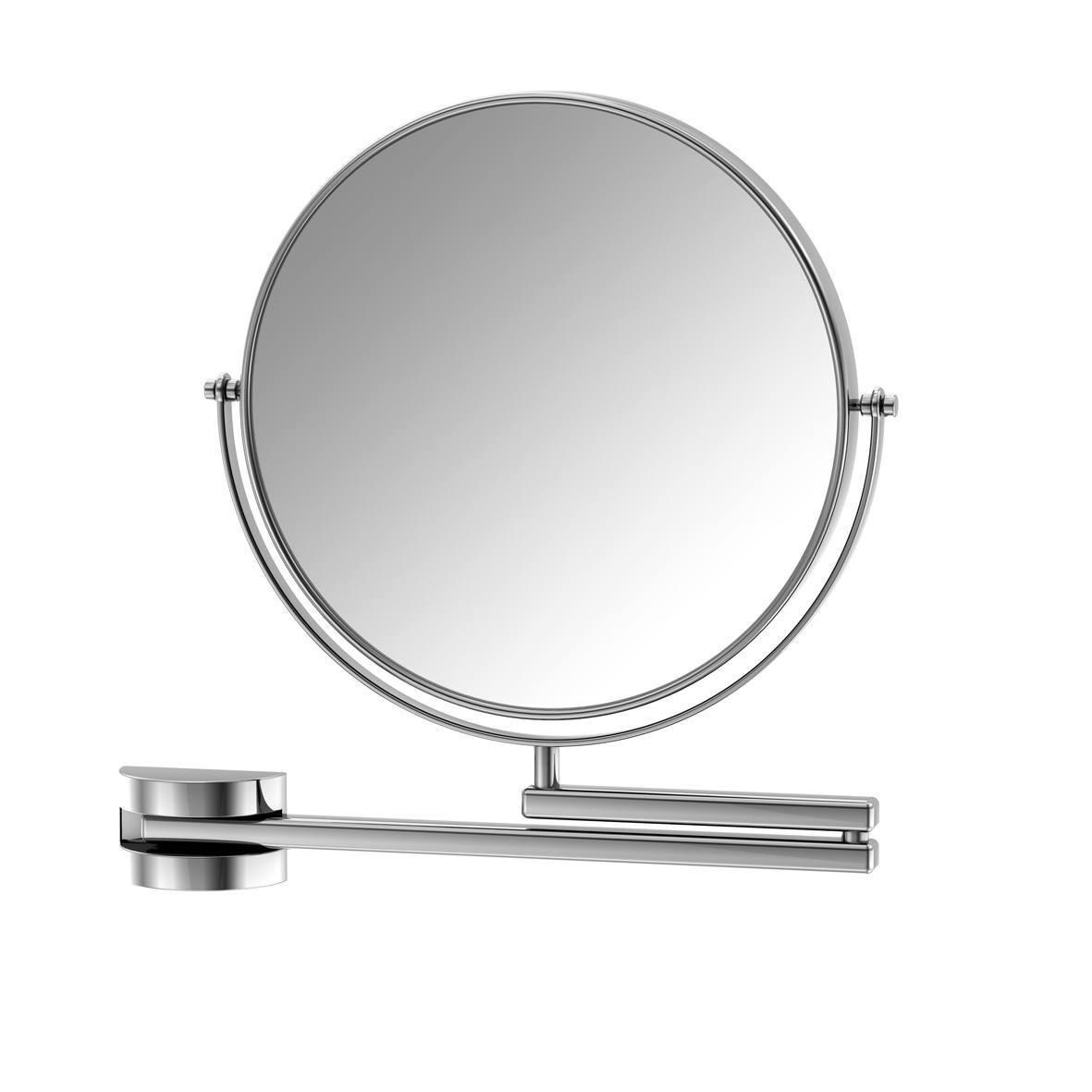650 9200 Steinberg Serie 650 Kосметичне дзеркало, двостороннє, 1x /3x збільшення, хром
