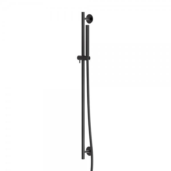 100 1601 S Steinberg Serie 100 Душовий гарнітур з штангой 900мм, з ручним душем, матовий чорний
