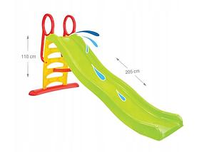 Горка детская пластиковая Mochtoys 205 см, фото 2