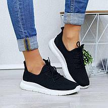 Летние женские черные кроссовки из сетки GIPA 38 р. - 24 см (1173870708), фото 3