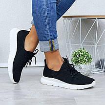 Летние женские черные кроссовки из сетки GIPA 38 р. - 24 см (1173870708), фото 2