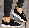 Летние женские черные кроссовки из сетки GIPA 38 р. - 24 см (1173870708), фото 5