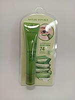 Сыворотка Увлажняющая Для Век С Экстрактом Алое Nature Republic California Aloe Vera 74% Cooling Eye Serum