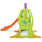 Детская горка-качель BAMBI HF-H002 баскетбольное кольцо разноцветная пластиковая, фото 2