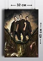 Плакат А3, Сверхъестественное 6