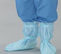 Бахилы высокие на завязках (спанбонд 30г/м2), стерильные