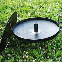Сковорода мангал (40см) с отверстием для дыма походная, фото 1