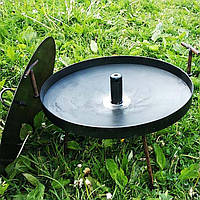 Сковорода мангал (40см) с отверстием для дыма походная