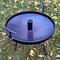 Сковорода мангал (50см) с отверстием для дыма походная