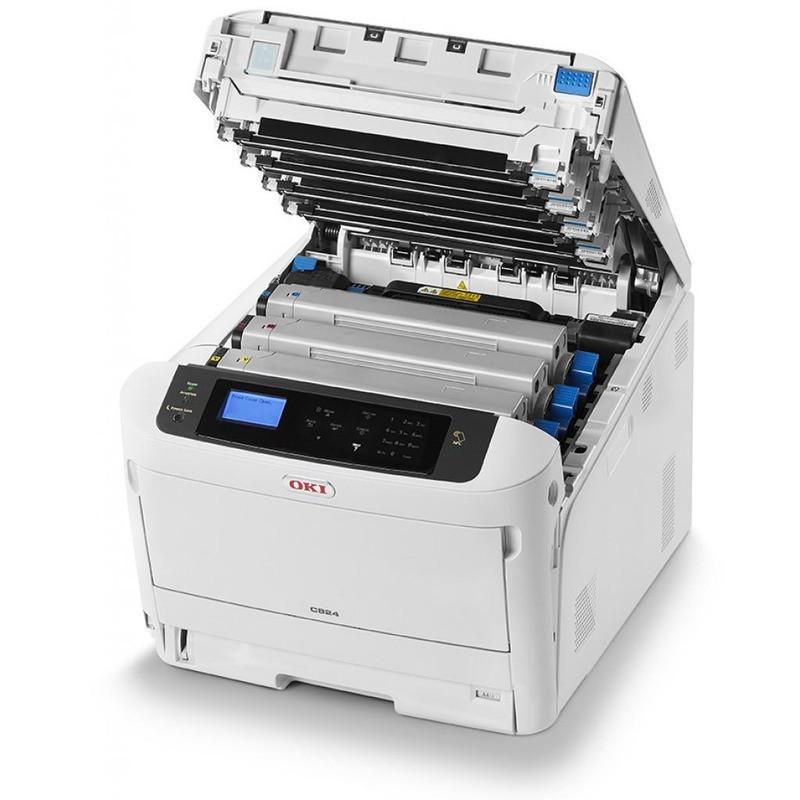 Принтер А3 кольоровий OKI C824N 47074204