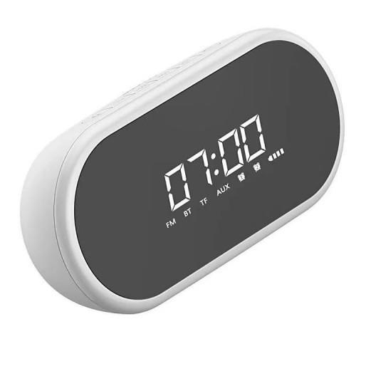 Настольные часы с Bluetooth акустикой Baseus Encok E09, White