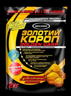 Прикормка Megamix Золотой Карп 2кг