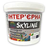 Краска акриловая для стен и потолков ИНТЕРЬЕРНАЯ SkyLine 5л
