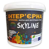 Краска ИНТЕРЬЕРНАЯ Латексная для стен, потолков, дверей SkyLine 5л