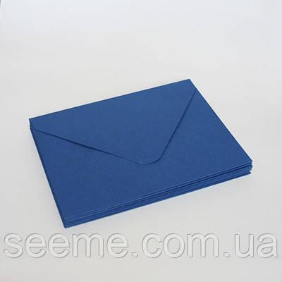 Конверт 162x113 мм, цвет синий