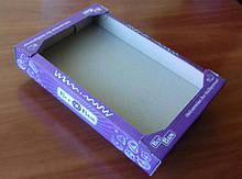 Лоток кондитерський з одноколірним друком / Лоток кондитерский с одноцветной печатью