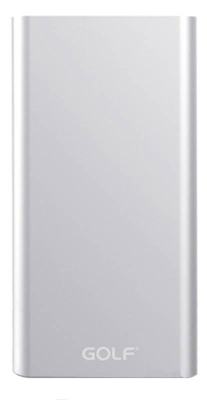 Повербанк GOLF10000 mah USB/microUSB/USB TYPE C (Power Bank портативное зарядное устройство)