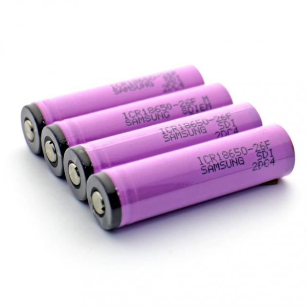 Литий-ионный аккумулятор 18650 Samsung INR18650-30Q, 2800mAh 3.7V
