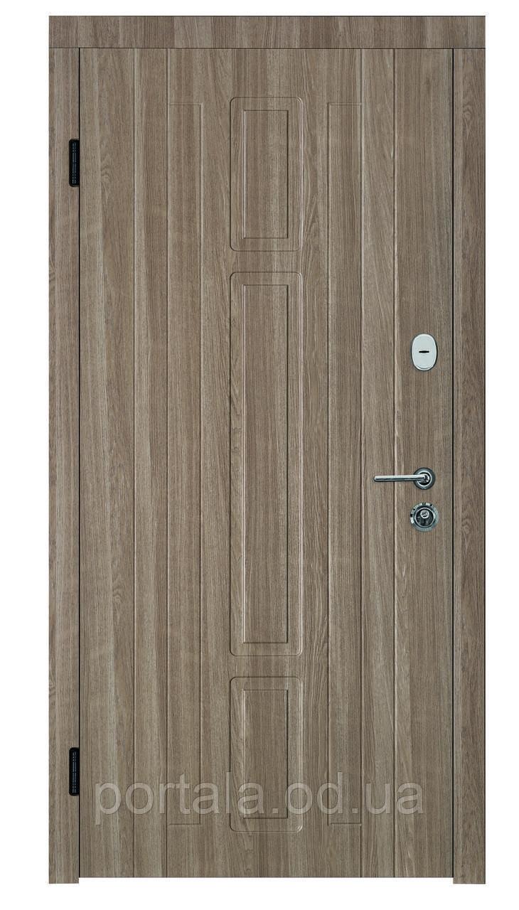 """Входная дверь для улицы """"Портала"""" (Премиум Vinorit) ― модель Нью-Йорк"""