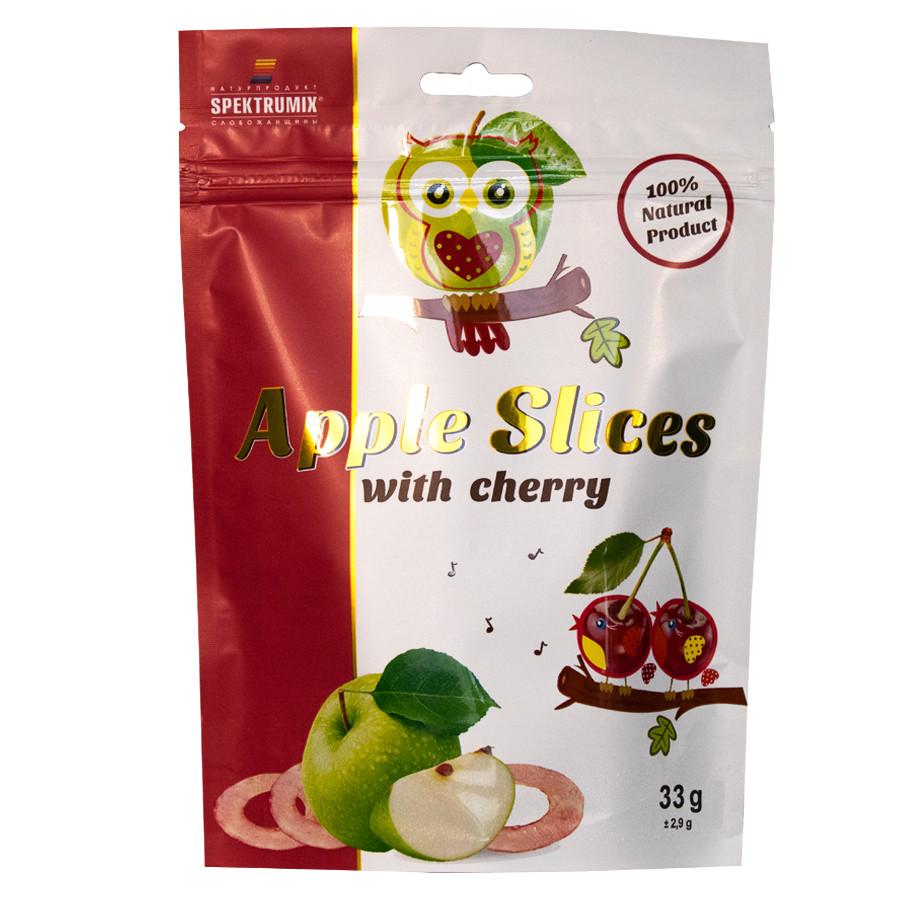 Фруктовые чипсы с вишневым соком Apple Slices, 33 г