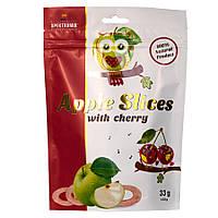 Фруктовые чипсы с вишневым соком Apple Slices, 33 г, фото 1