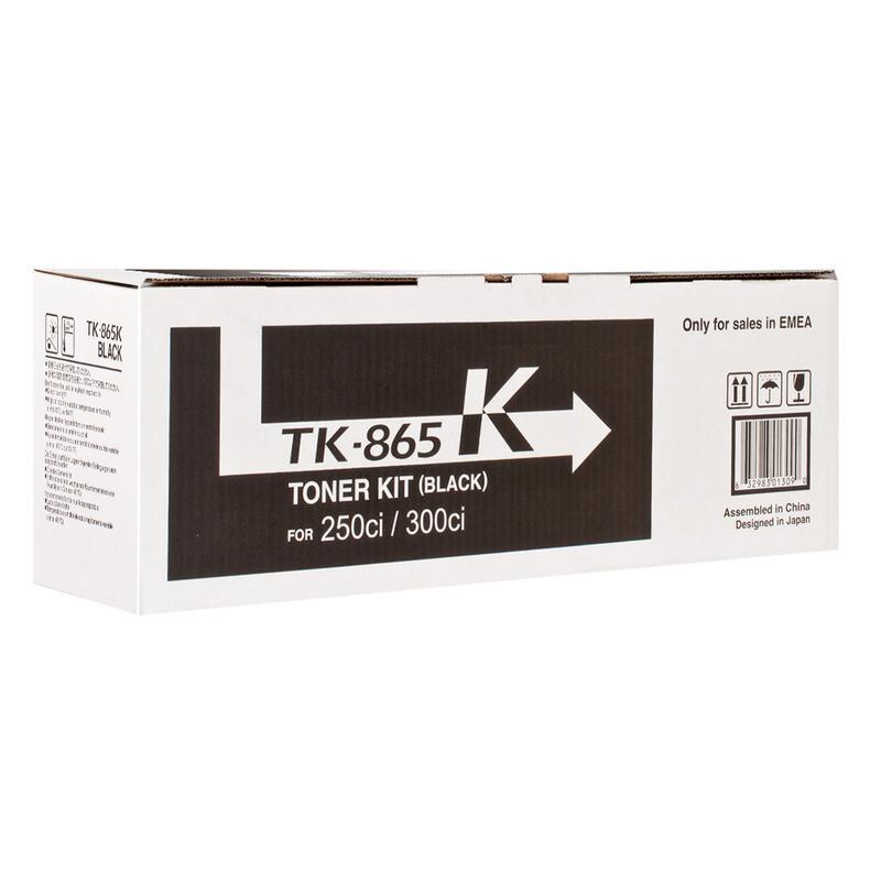 Картридж Kyocera-Mita TK-865 Black (1T02JZ0EU0)